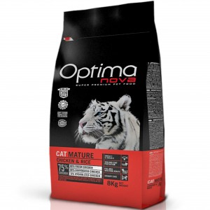 Optimanova Cat Adult Mature Chicken 8kg