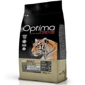 Optimanova Cat Adult Chicken & Rice 8kg