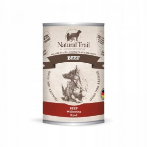 Natural Trail Dog Beef puszka 400g