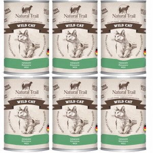 Natural Trail Wild Cat 400G 5+1 GRATIS kot