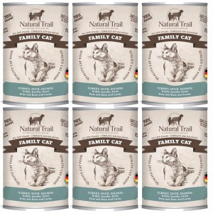 Natural Trail Famili Cat 400G 5+1 GRATIS kot