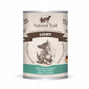 Natural Trail Dog Light Chicken, Turkey