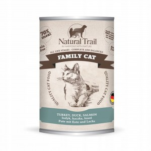 Natural Trail Cat 400g Family Turkey, Duck, Salmon