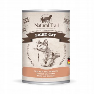 Natural Trail Light Cat Sterilized 400G karma kot